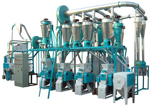 20T Small Scale Milling Plant