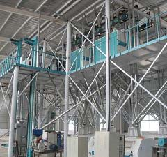 100T Corn Milling Equipment