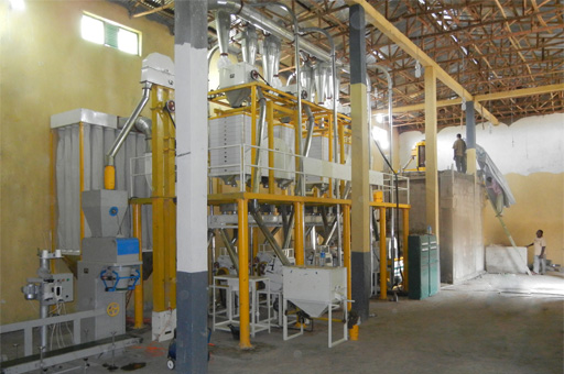 Wheat Flour Mill Project Installation in Ethiopia