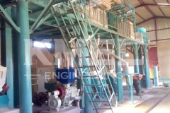50 TPD Corn Flour Mill Plant in Zambia