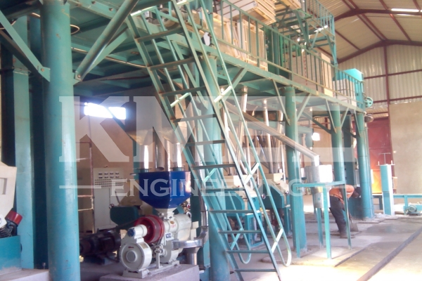 corn flour mill plant workshop