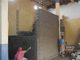 wheat flour mill project silo
